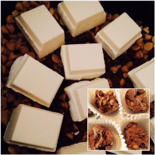 Crockpot Chocolate Peanut Clusters aka Reindeer Poop