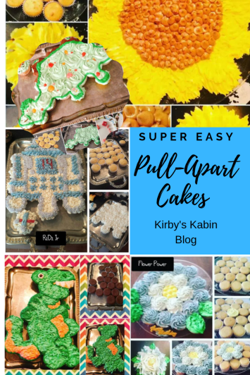 Pull Apart cakes are so easy and so much fun! My kids are loving these and they make clean up a breeze at parties.