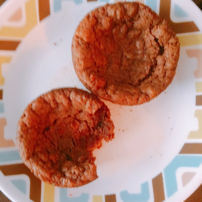 Eggless Nutella Muffins