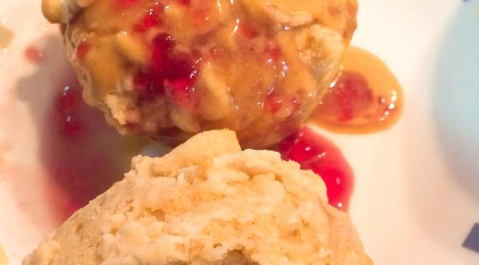 PB & Jelly Swirl Muffins