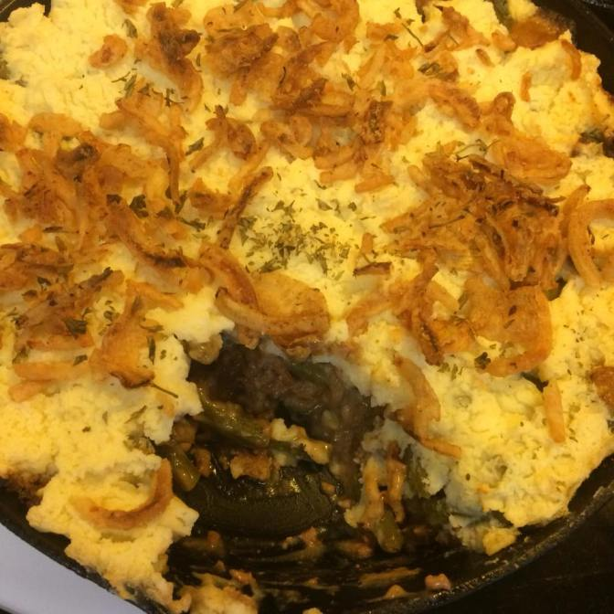Shepherd's Pie in a Skillet