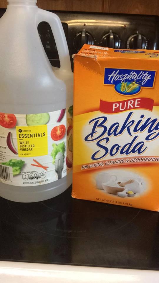 Baking Soda Drain Cleaner And Freshener