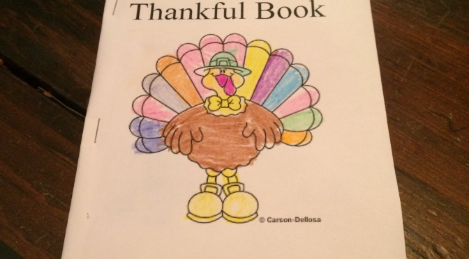 Last Minute Craft: A Thankful Book