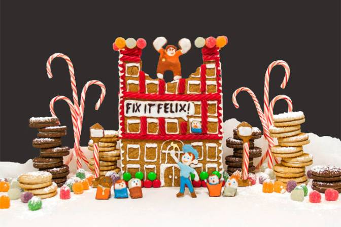 Christmas Activity: Wreck-It Ralph Gingerbread House