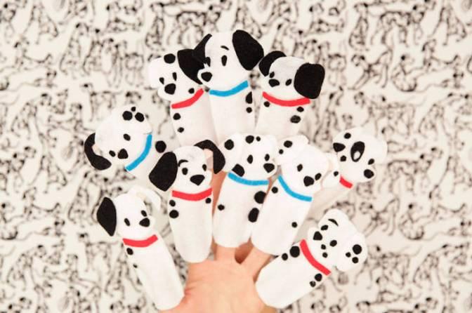 Freebie Alert: 101 Dalmatians Finger Puppets