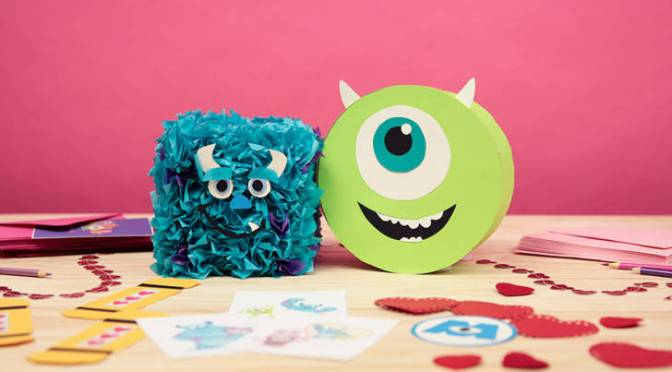 Freebie Alert: Monsters, Inc. Valentine's Day Mailboxes