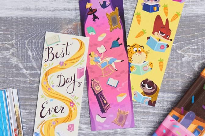 Freebie Alert! Disney Bookmark Craft