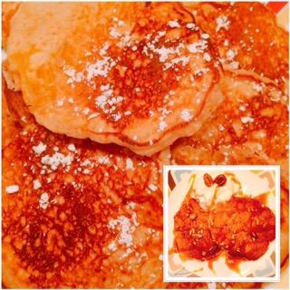 Pumpkin Honey Pancakes