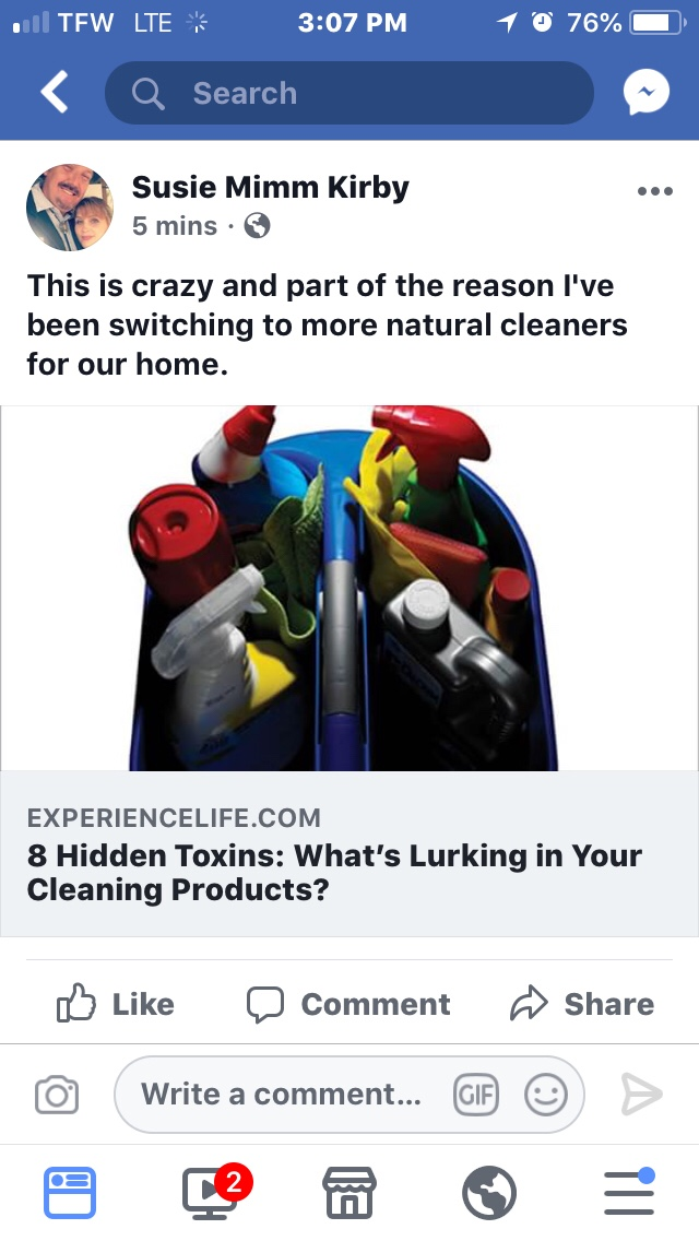 Is Cleaning Bad For Your Health?