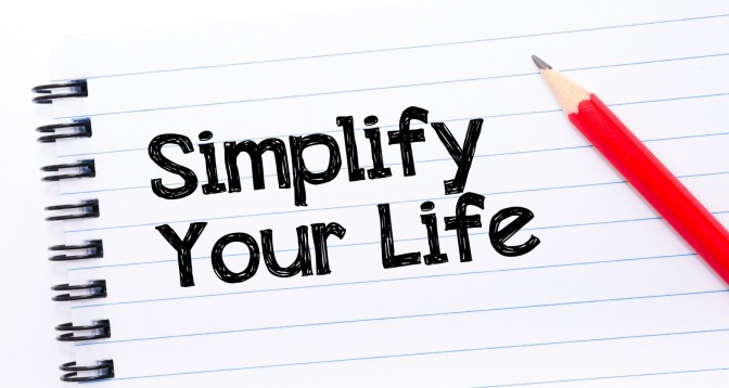 Simplify Your Life: Step 6 Set Up Routines