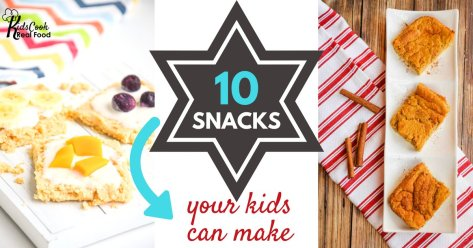 10 snacks your kids can make star (1)
