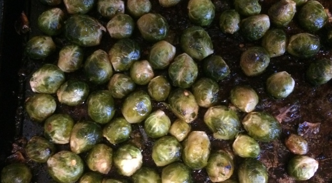 Maple Glazed Brussels Sprouts