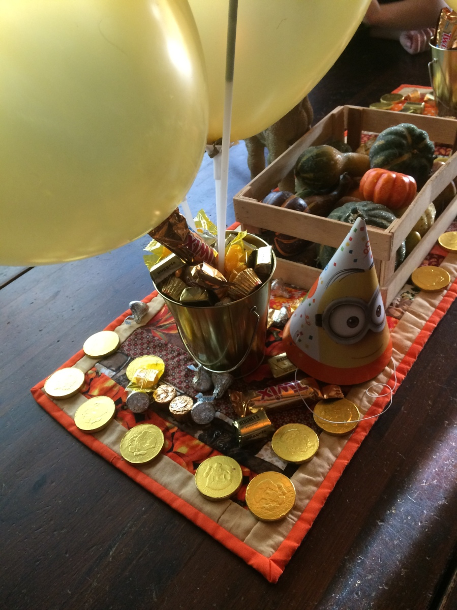 A Little House On The Pond Gold Rush Party Menu