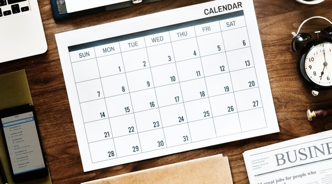 Large Family Planning Calendar For The New Year
