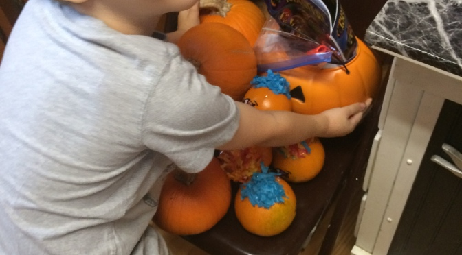 Counting Pumpkins… Yes, I Said Pumpkins