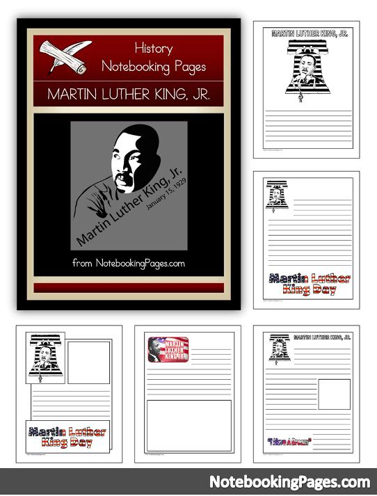 Freebie Alert: Martin Luther King Jr. Unit Study