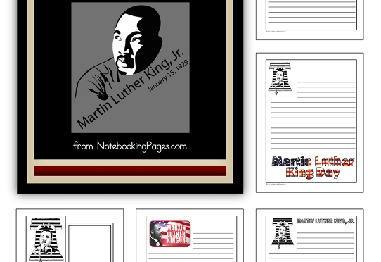Freebie Alert: Martin Luther King Jr. Unit Study