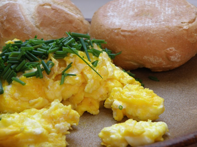 Sensible Scrambled Eggs
