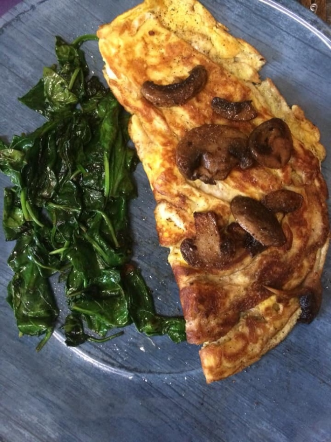 Super Simple Sauteed Spinach