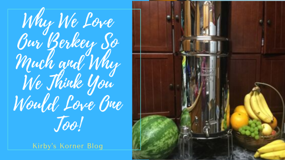 Many of you may remember when I posted about our Berkey system a few months ago. I was so excited to see the boxes on the porch when we got home from a dance that I stayed up late to get it all assembled and ready to go for the next day. I've since bought a couple of additional They have a wide variety of sizes to choose from and we ultimately chose to go with the biggest system, the Crown Berkey Water Purification System. It has been such a life changer here at our cabin. The water had gotten so nasty that we really didn't want to even bathe in it much less drink it or use it for cooking. With our new Berkey, the problem was truly solved overnight!