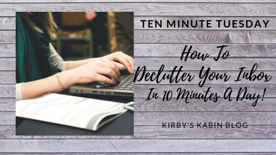 How to Declutter Your Inbox in 10 Minutes a day!